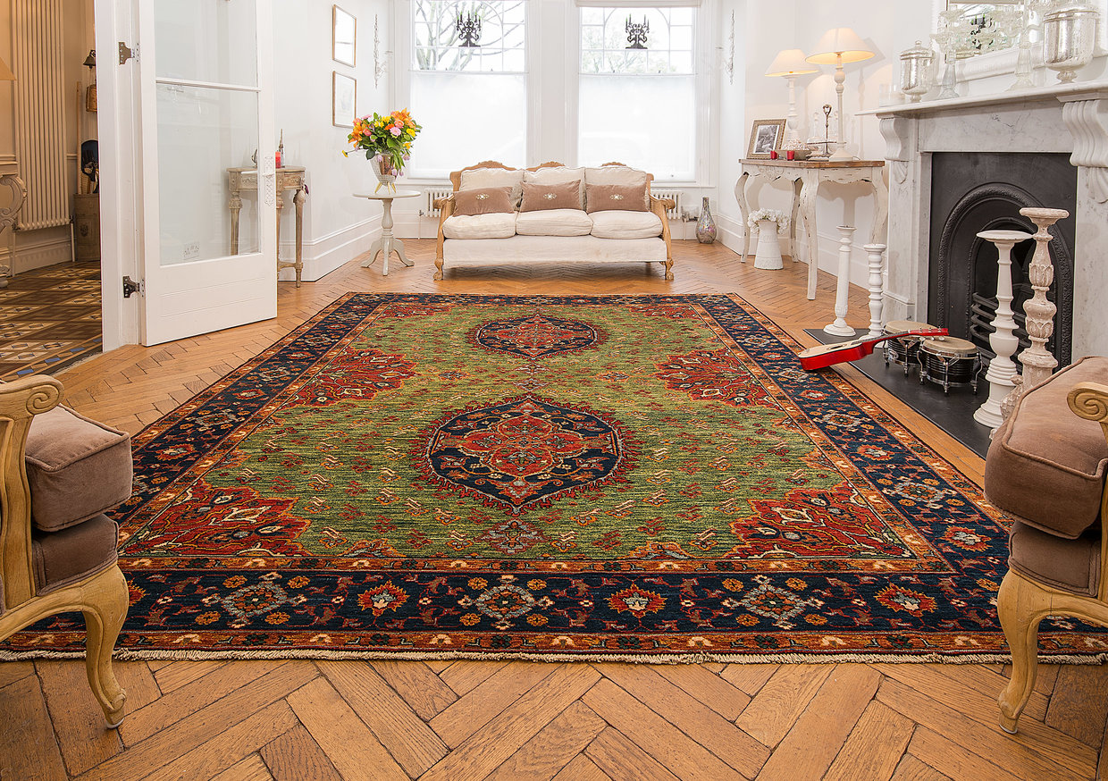 How An Afghan Rug Can Transform Your Living Space